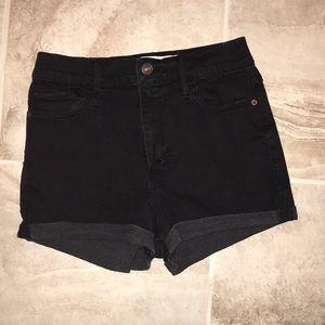 Tight & soft black shorts